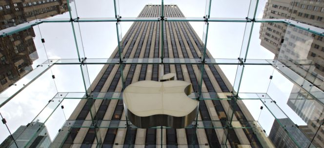 Sede de Apple en Nueva York.