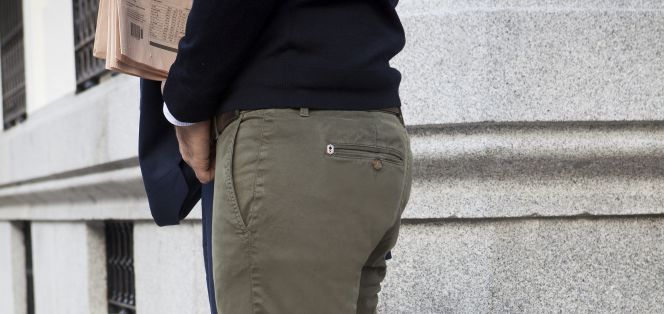 Pantalones chinos 'Made in Spain'