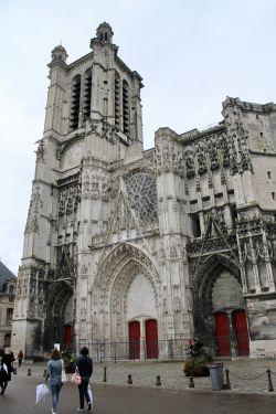 La catedral gótica de San Pedro y San Pablo, en Troyes.