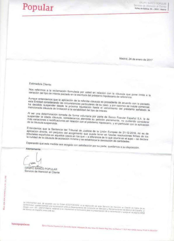 Fotorrelato las contestaciones de la banca ante las for Acuerdo clausula suelo caja duero