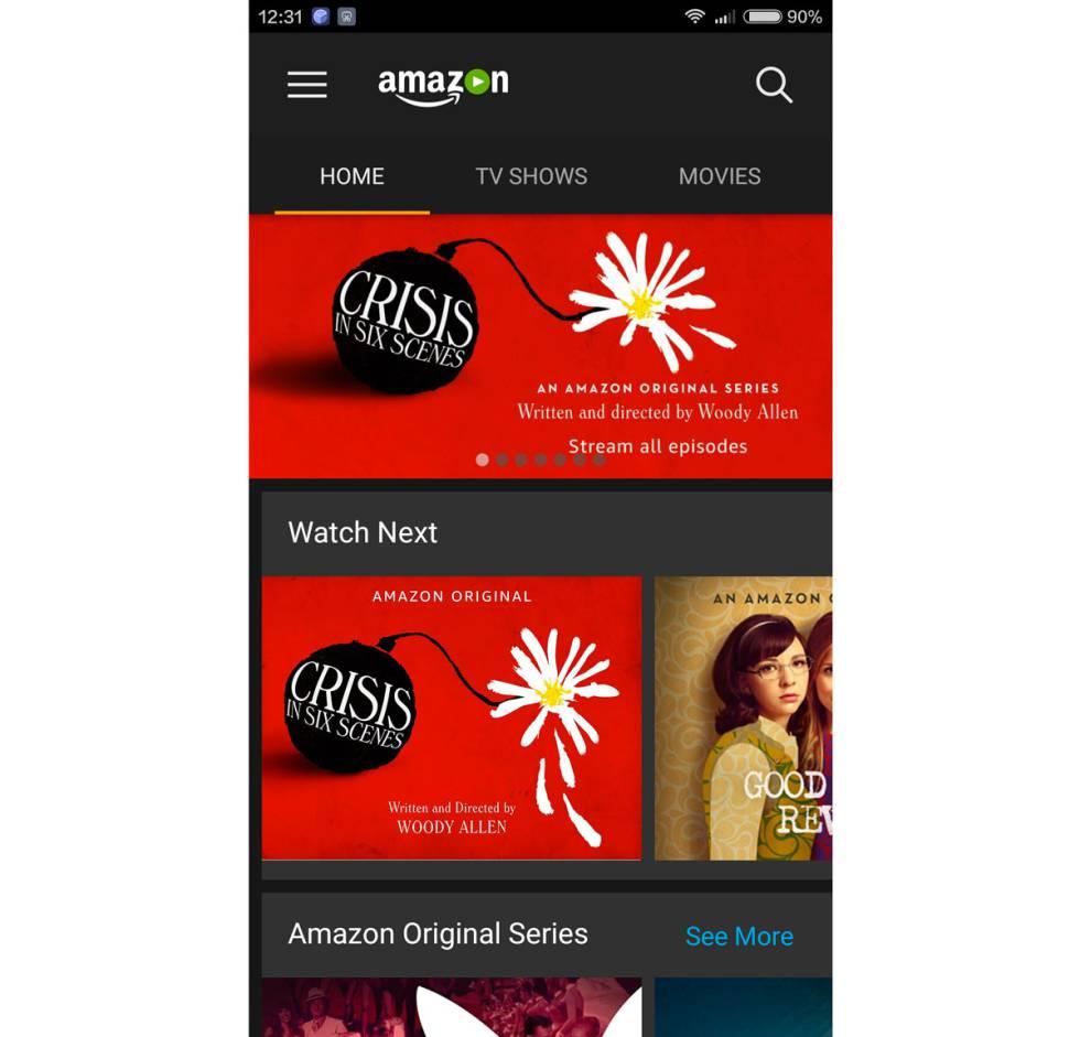 Cómo enviar contenidos de Amazon Prime Video a Chromecast desde el