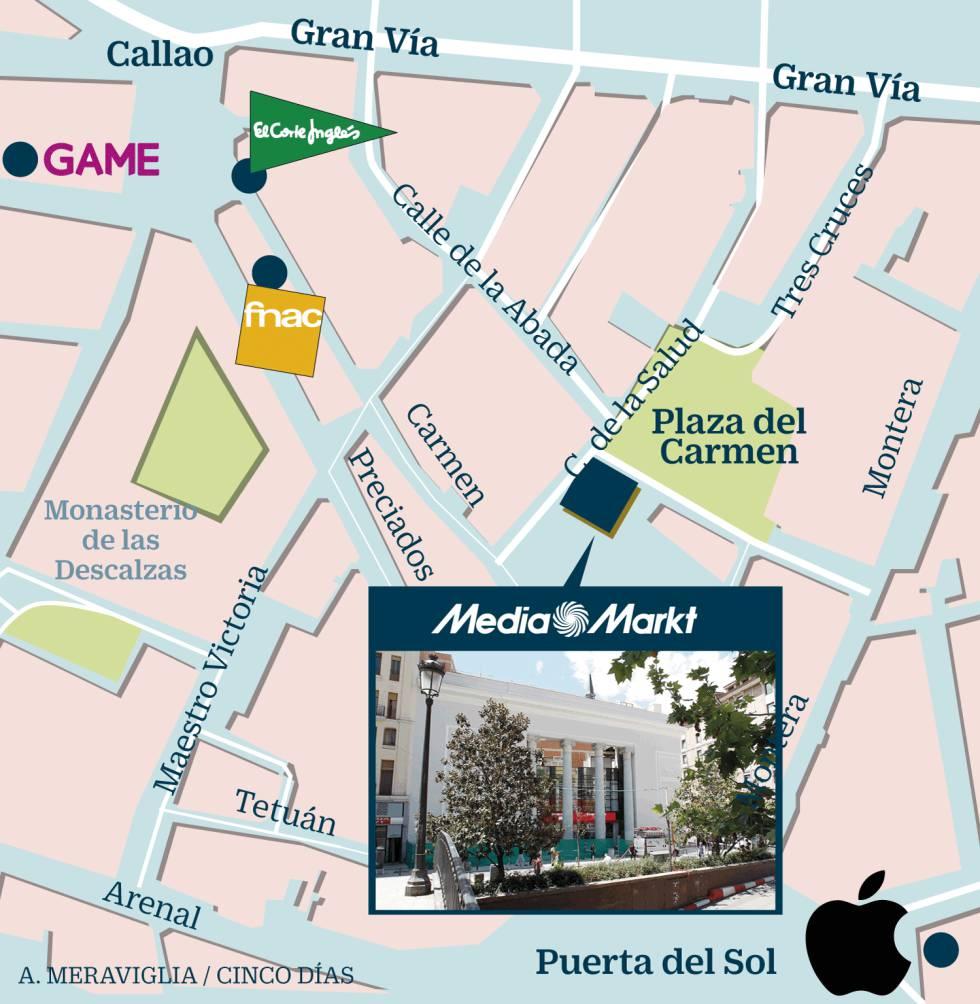 MediaMarkt completa en Madrid la milla de oro de la electrónica de ... cf3dc7e3605