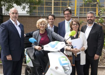 El 'Car2Go' de las motos desembarca en Madrid