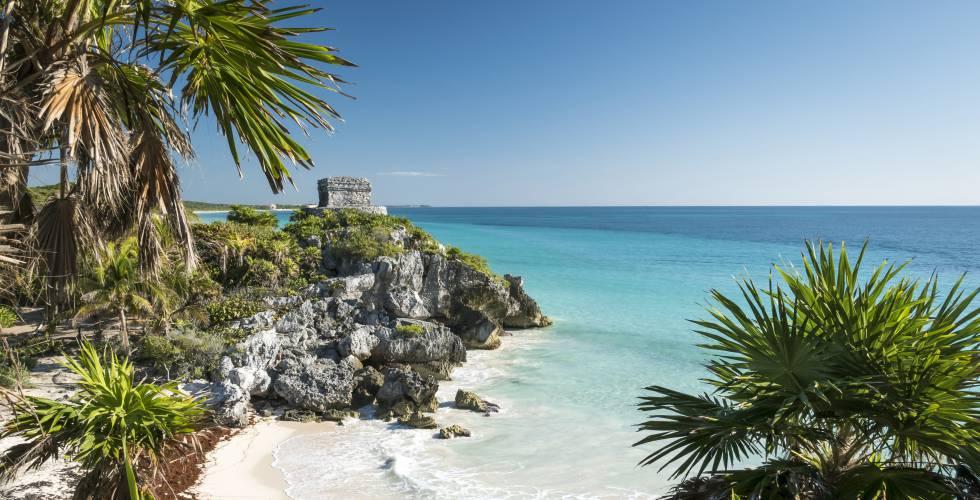 riviera maya: tulum, un paseo entre las ruinas de playa paraíso