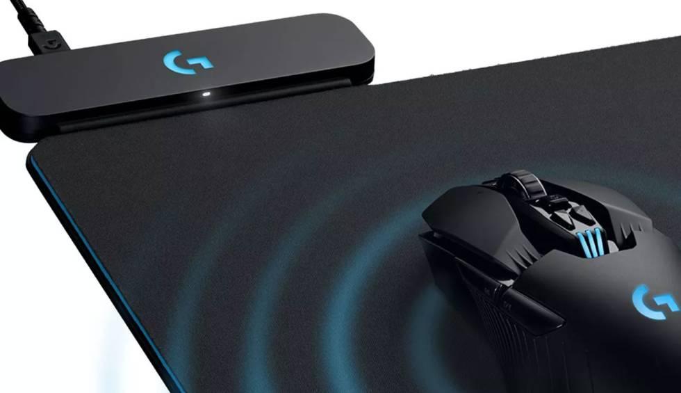 Esta nueva alfombrilla de Logitech carga el ratón mientras lo utilizas