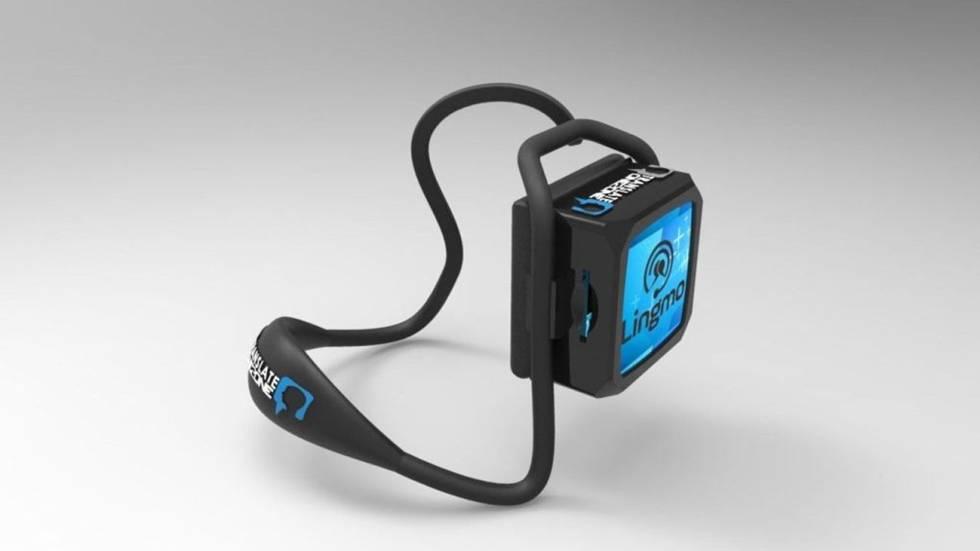 Estos auriculares traducen hasta ocho idiomas en segundos gadgets cinco d as - Traduttore simultaneo italiano inglese portatile ...