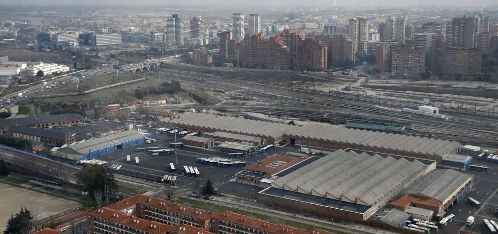 Entorno de la estación de Chamartín, al norte de Madrid.