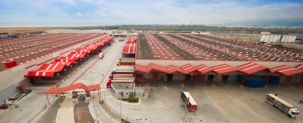 Centro logístico de Alfil Logistics.