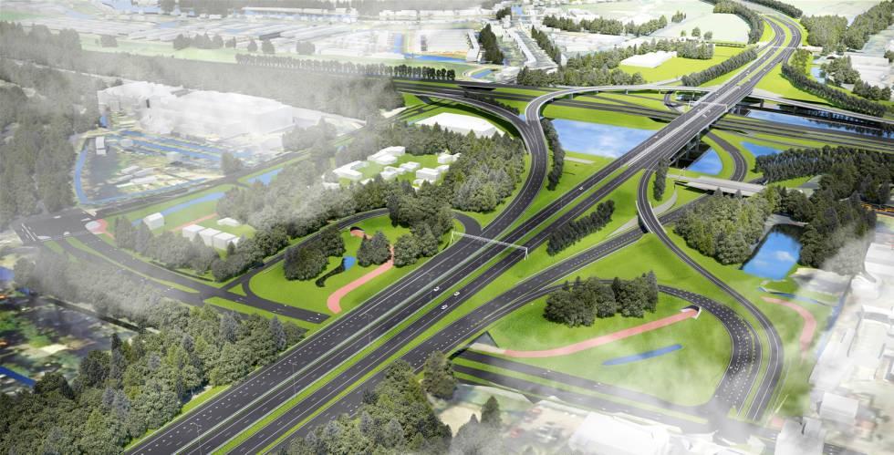 Sacyr, finalista por una autopista de 1.000 millones en Holanda