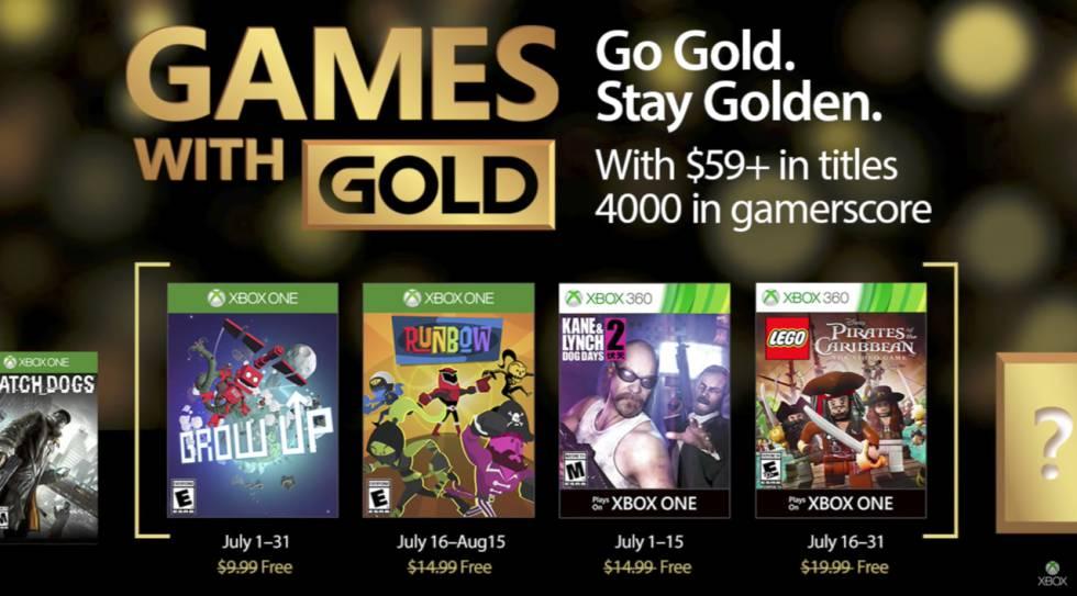 Juegos Gratis De Xbox One Y Xbox 360 Julio 2017 Lifestyle