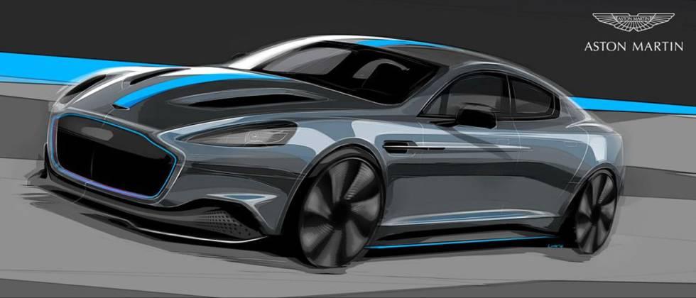 Diseño del nuevo Aston Martin RapidE