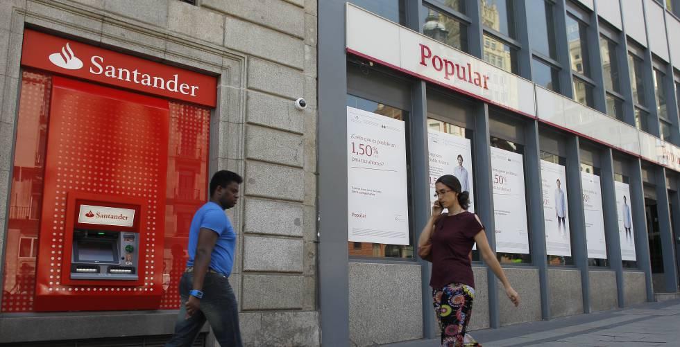 Si ha comprado popular por un euro por qu ampl a for Oficinas banco santander zaragoza capital