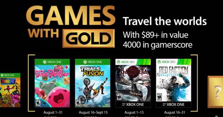 Juegos Gratis De Xbox One Y Xbox 360 Para Agosto 2017 Gadgets