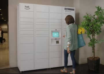 Amazon Hub Locker guardará tu paquete hasta que llegues a casa