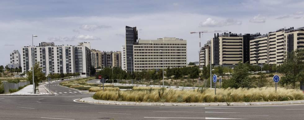 Barrio de Valdebebas, en Madrid.