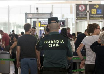Fomento activa el dispositivo de la Guardia Civil en El Prat