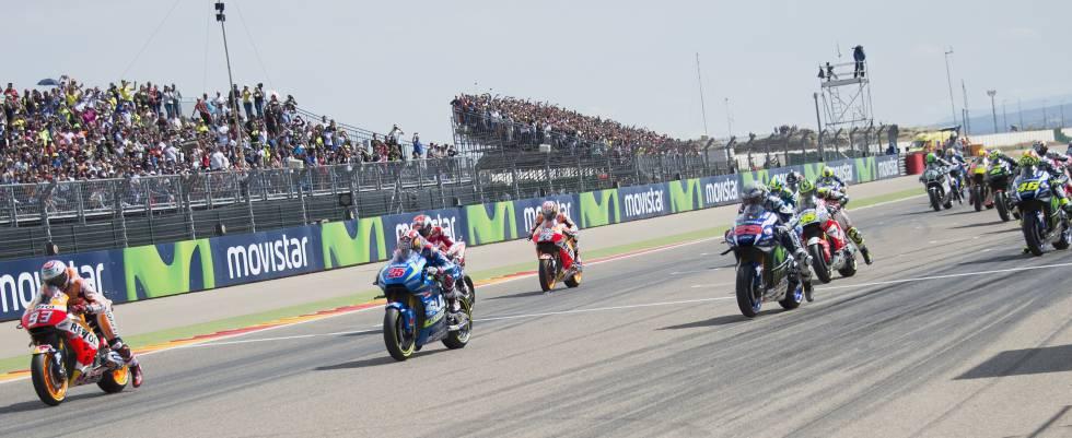 Circuito Alcañiz : Motorland donde los números rojos corren más que las motos