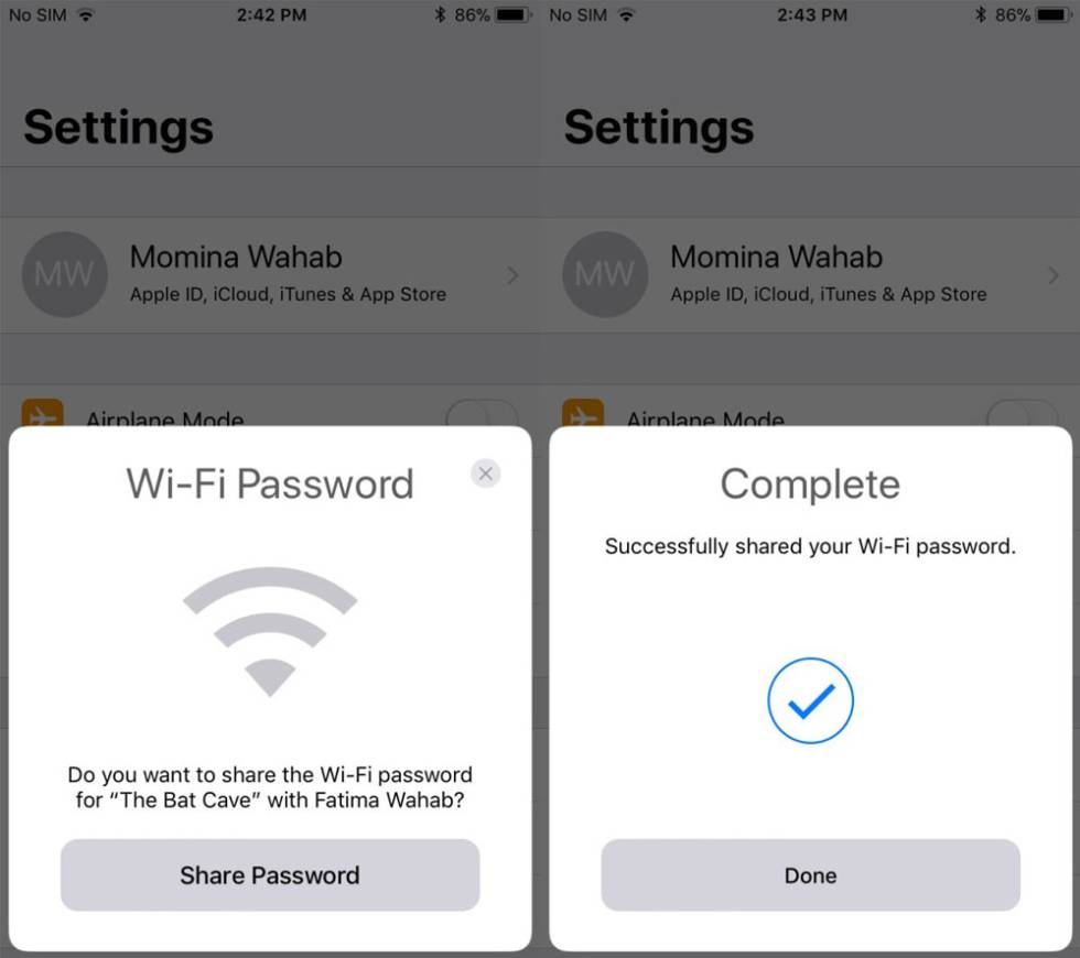 iphone keeps asking for password c 243 mo compartir la contrase 241 a wifi con otros iphone en 17662