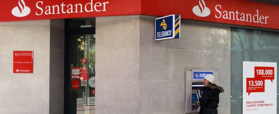 Contraoferta al que se da de baja la banca aplica a las for Cajeros banco santander para ingresar dinero