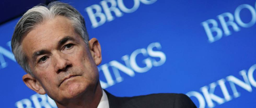 El gobernador de la Fed, Jerome Powell.
