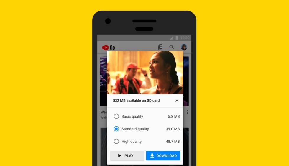 Ya podemos descargar vídeos con YouTube GO y verlos sin conexión