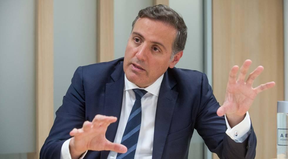 """David Martínez (Aedas): """"El 'procés' ha reducido un 20% nuestras ventas en Cataluña"""""""