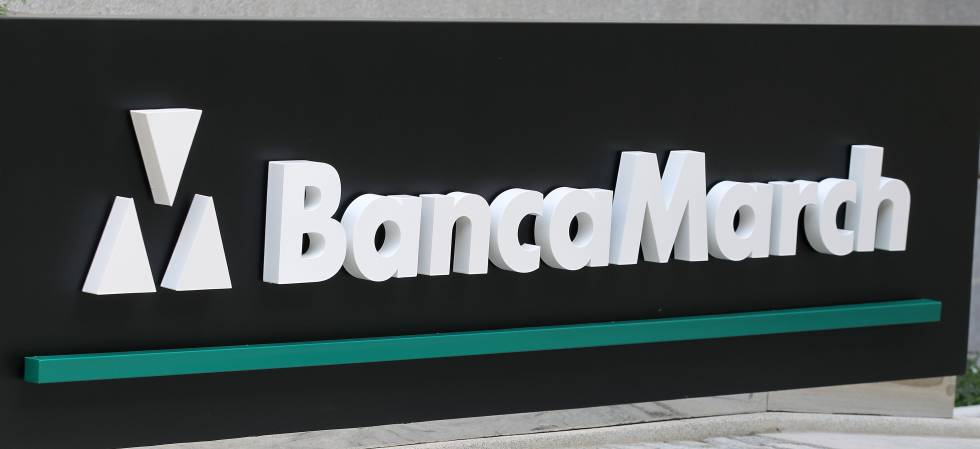 El logotipo de Banca March.