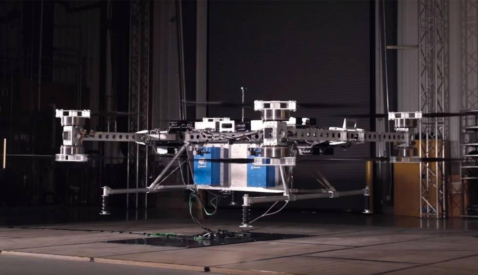 Boeing presenta un dron capaz de transportar más de 200 kilos de peso