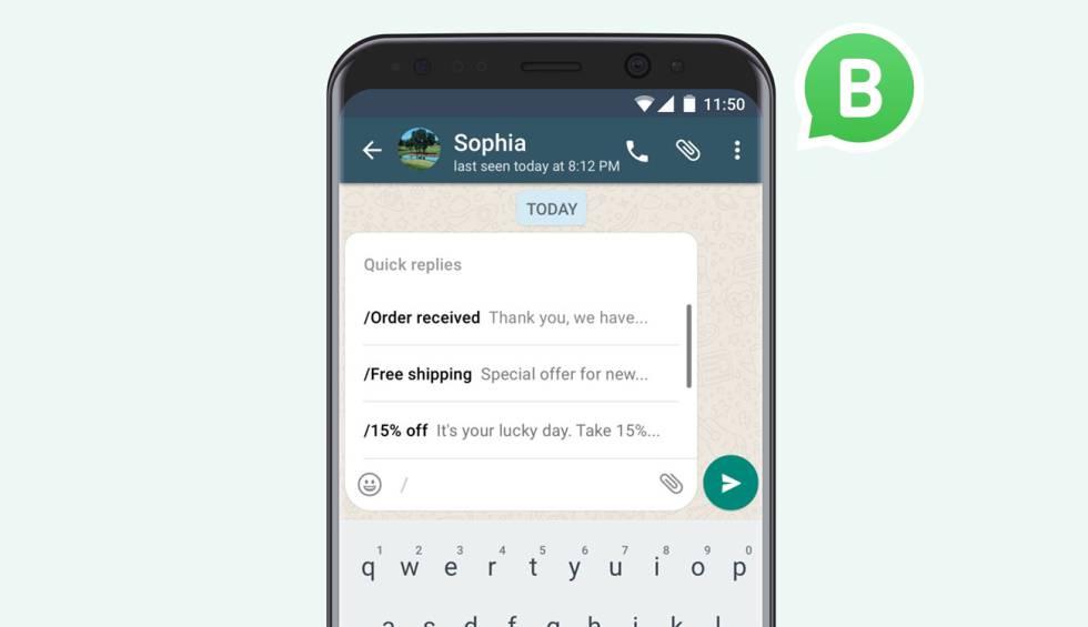 WhatsApp Business ya es oficial, el WhatsApp para los negocios