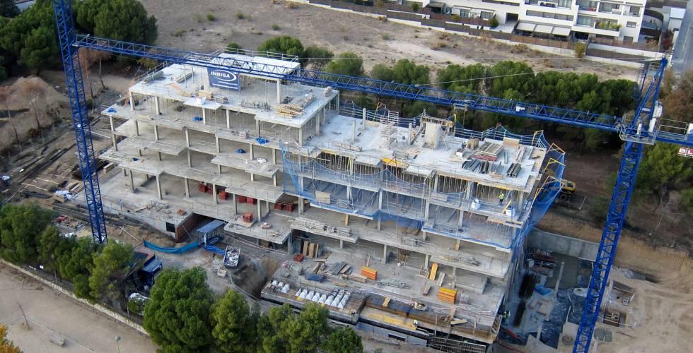 Promoción de viviendas en Madrid de la promotora Inbisa.