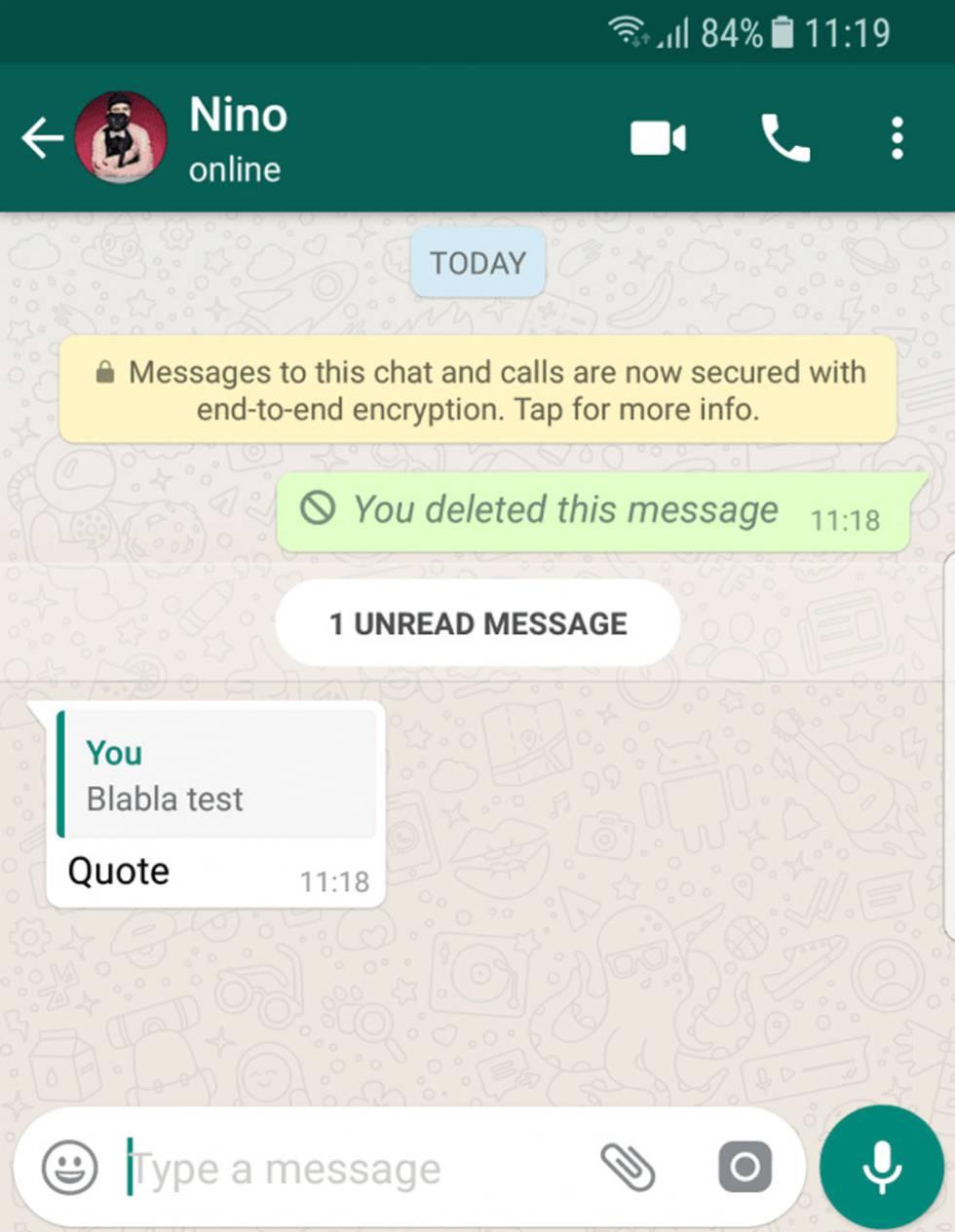 Whatsapp chat site