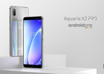 Los BQ Aquaris X2 y X2 Pro serán Android One, con diseño similar al iPhone X