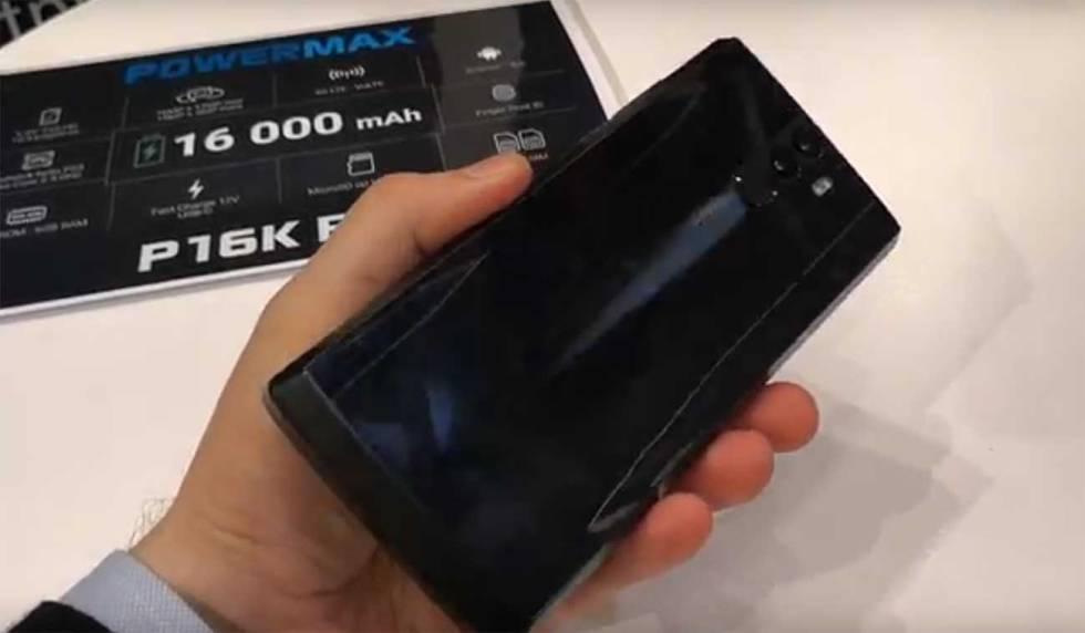 Así es el móvil con más batería del planeta (vídeo)