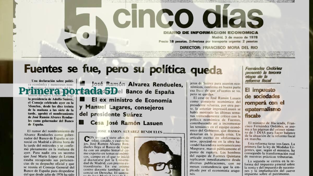 40 Aniversario Cinco Días