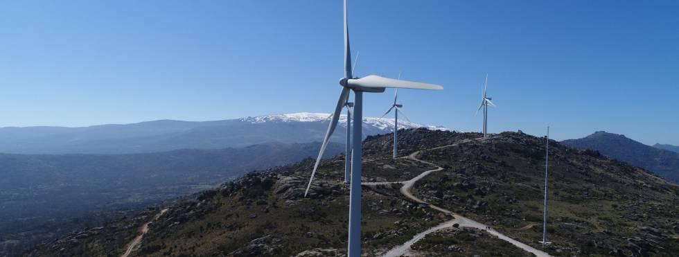 Parque eólico de Feníe Energía en Salamanca.rn rn rn rn