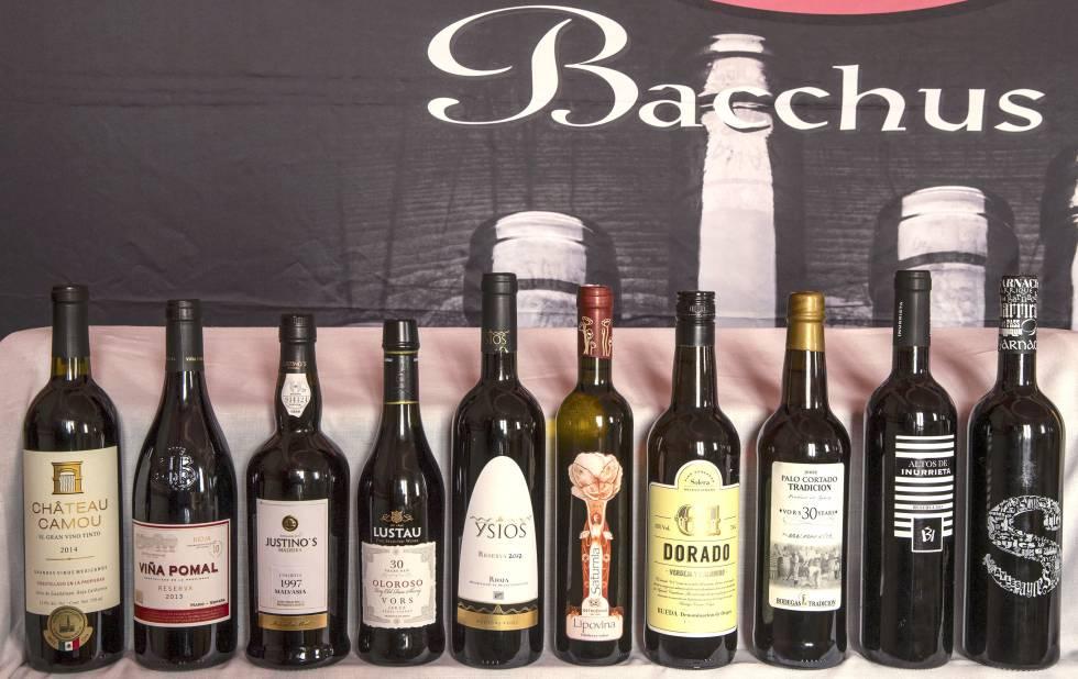 Siete vinos españoles reciben el Bacchus de Oro 2018