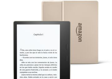Nuevo Kindle Oasis en color dorado Champagne Gold