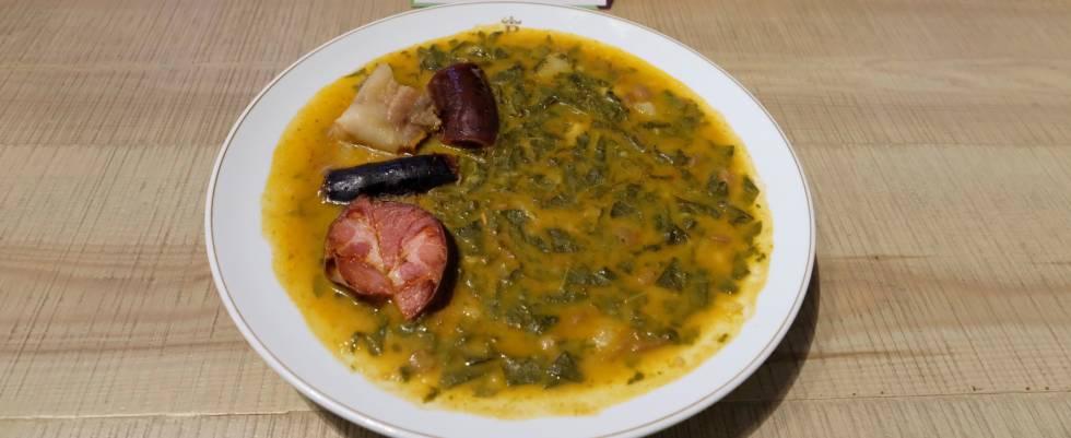 La Allandesa, la cuna del pote asturiano