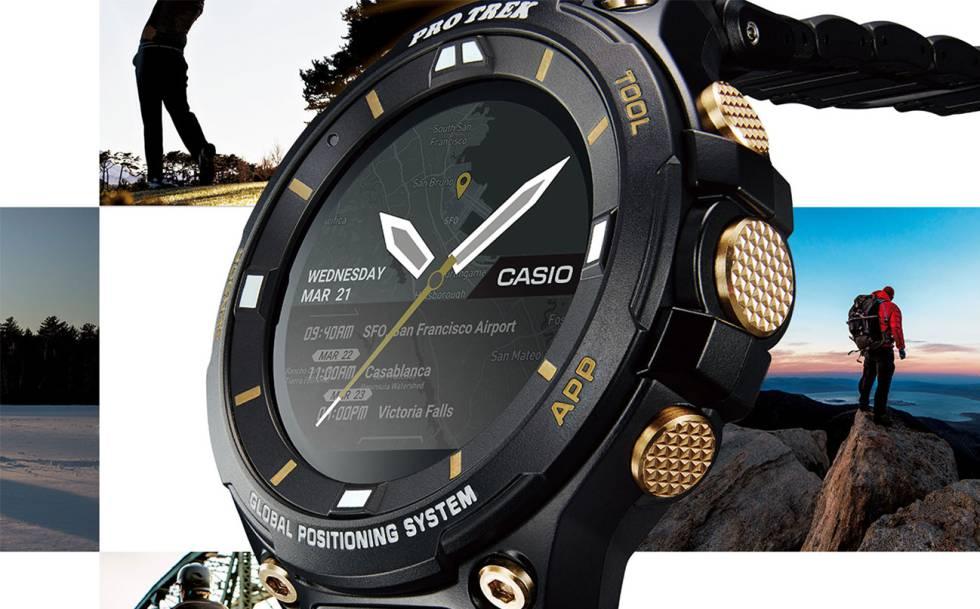 d52f204ba387 Casio lanza un nuevo smartwatch Pro Trek ultra resistente