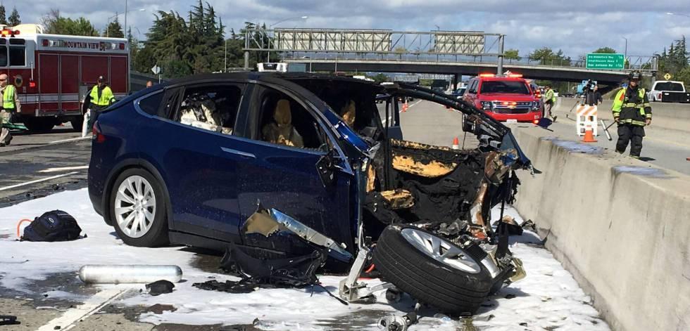 Coche Mortal Accidente En Segundo Reconoce El Un Tesla Piloto Con P8NnwOX0kZ