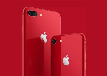 Apple lanza los iPhone 8 y 8 Plus de color rojo