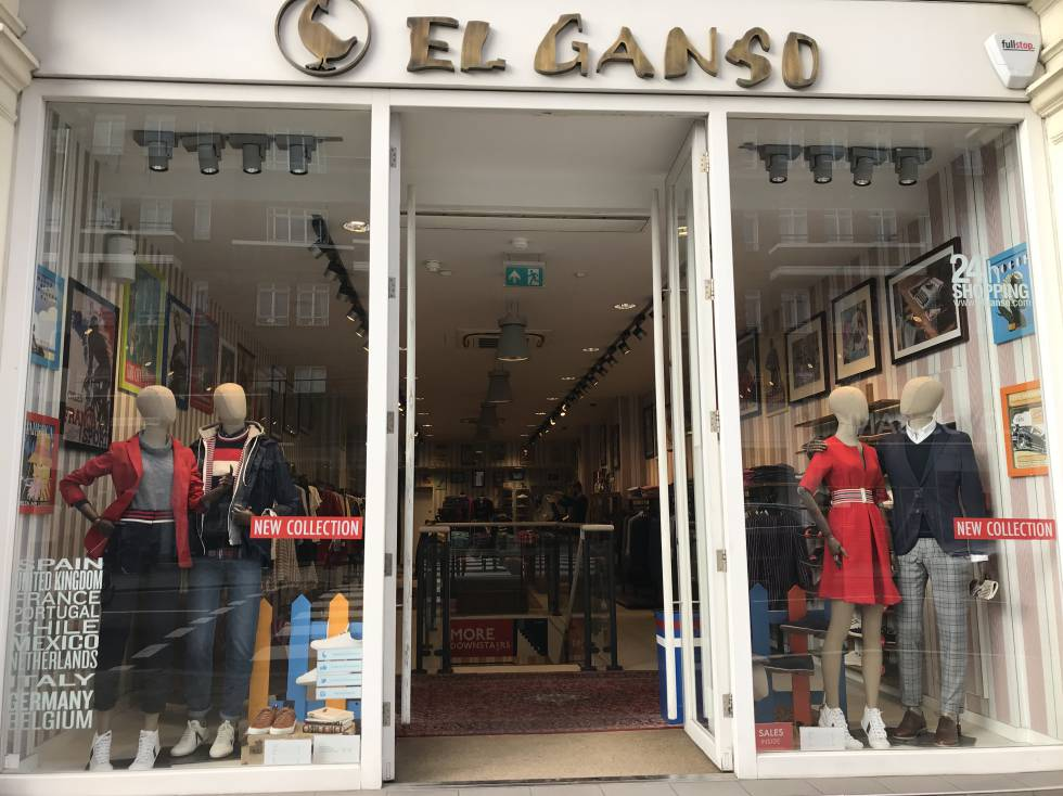 Tienda de El Ganso en la calle King's Road, en Londres.
