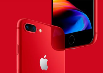 Unboxing del iPhone 8 Plus de color rojo en vídeo