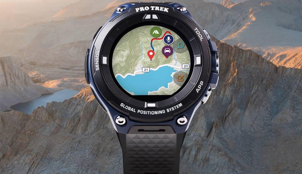 363a2d3549a3 Nuevo smartwatch Casio Pro Trek con GPS y Wear OS