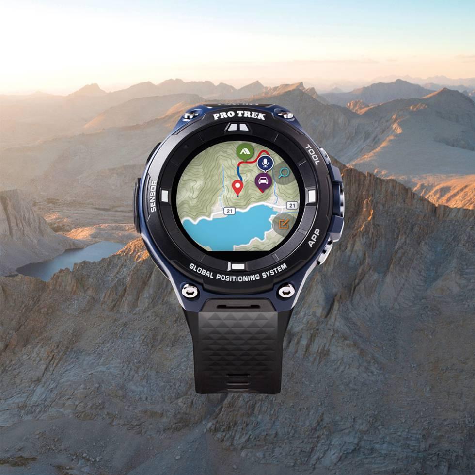 Nuevo Smartwatch Casio Pro Trek Con Gps Y Wear Os Ahora