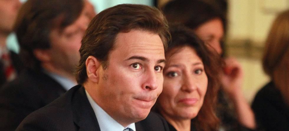 Dimas Gimenos, presidente no ejecutivo de El Corte Inglés, y Cristina Álvarez Guil.