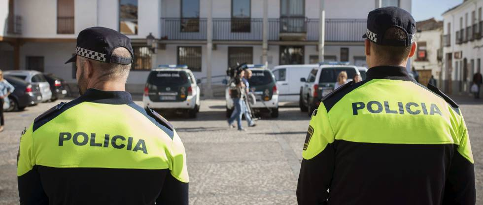 Agentes de la policía local de Valdemoro (Madrid)