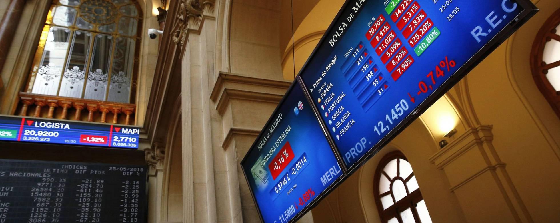 Ibex: Cinco gráficos que explican la tormenta del mercado