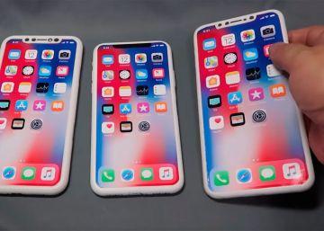 iPhone de 2018: comparan su aspecto real con prototipos impresos en 3D
