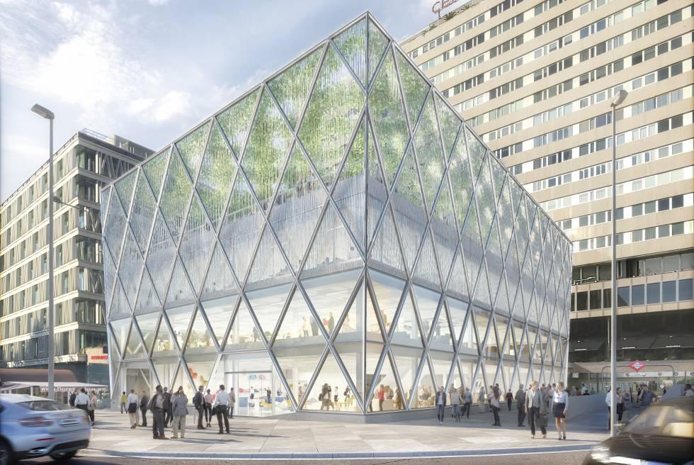 Madrid estrenará edificio de Norman Foster en la plaza de Colón